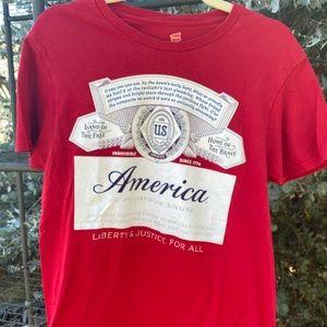 Budweiser America shirt